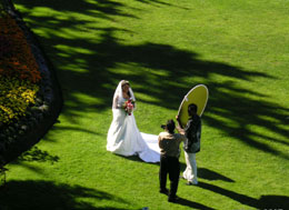 Queen Elizabeth Park wedding