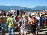 Volleyball at Kitsilano beach