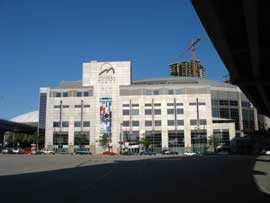 Rogers Arena  - formerly General Motors Place