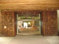 Entrance Museum of Anthropology