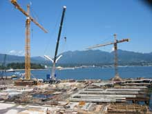 Construction on the Waterfront